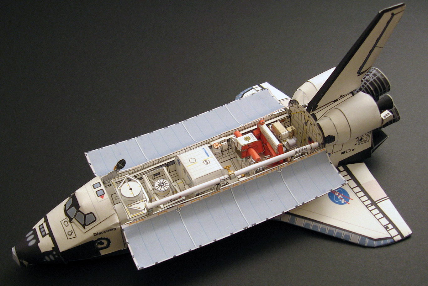paper spacecraft models - photo #15