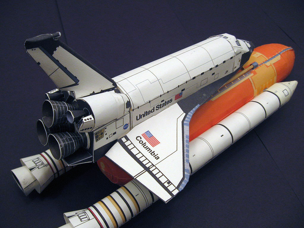 atlantis space shuttle papercraft - photo #12