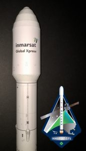New Model: Falcon 9 Inmarsat-5 F4