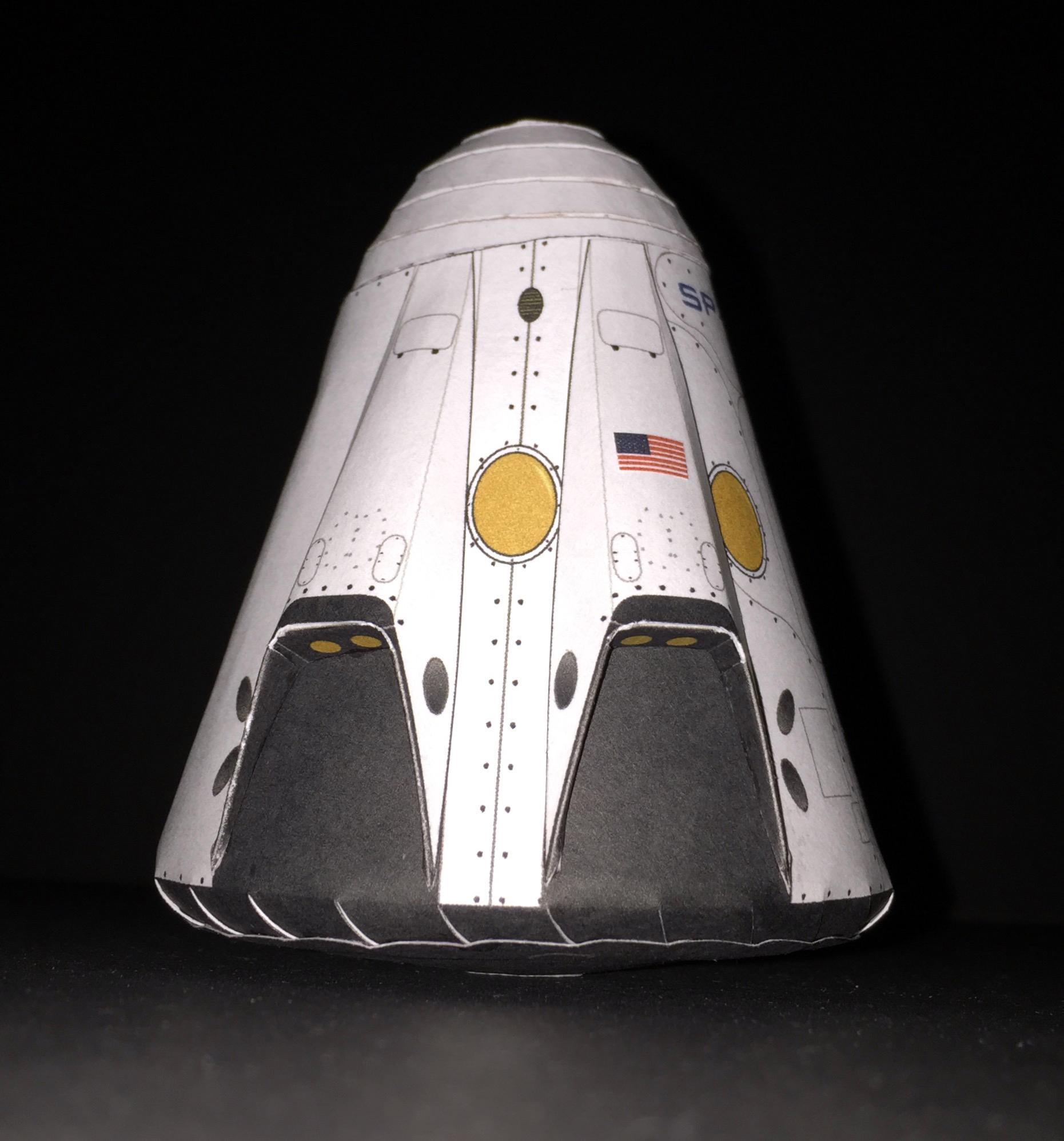 dragon spacecraft models - HD1861×1996